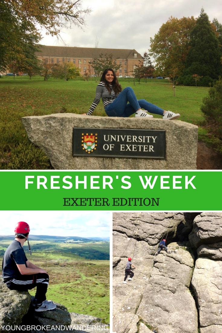 FRESHERS WEEK EXETER