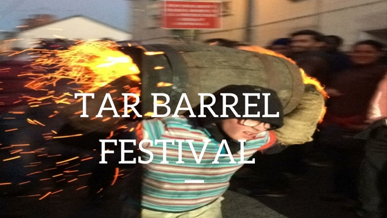 Tar Barrel Festival Ottery St Mary