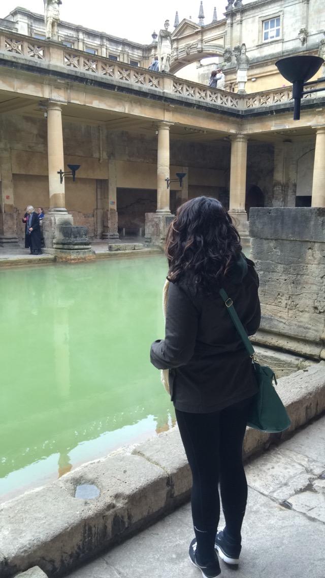Roman Baths Bath UK