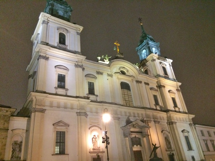 Holy Cross Church Warsaw Poland