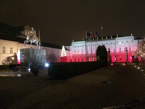 President's Palace Warsaw Poland