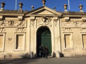 The Rome Keyhole