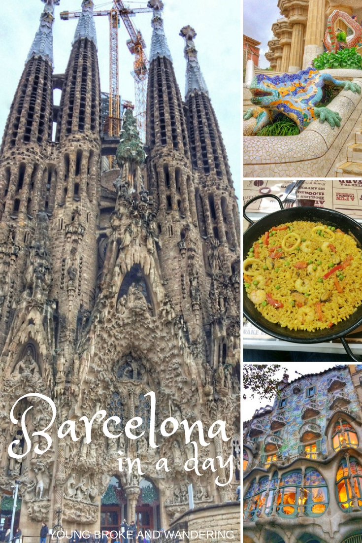 Barcelona in a day